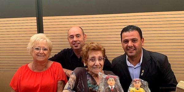 Homentage a una àvia centenària de Balaguer