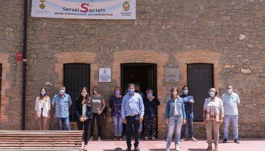 Inauguració del Servei d'Intervenció Socioeducativa de la Noguera a Ponts