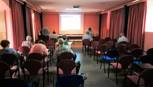 Inici de la formació sobre la manipulació d'aliments, i les al·lèrgies i intoleràncies alimentàries al Consell Comarcal de la Noguera