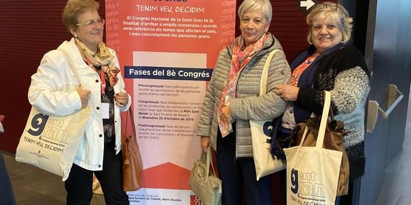 La Noguera participa 8è Congrés Nacional de la Gent Gran de Catalunya