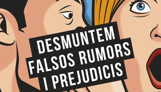 """Rellançament de la campanya """"Desmuntem falsos rumors i prejudicis"""" als mercats de la Noguera amb la """"Pallassa Antirumors"""""""