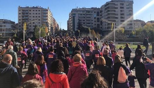 El Servei d'Informació i Atenció a les Dones (SIAD) de la Noguera participa en diferents activitats per commemorar el Dia Internacional per a l'eliminació de la violència envers les dones