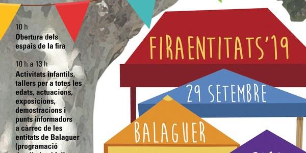 Torna la Fira d'Entitats de Balaguer